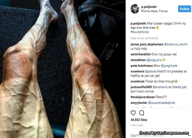 Pawel Poljanski leg