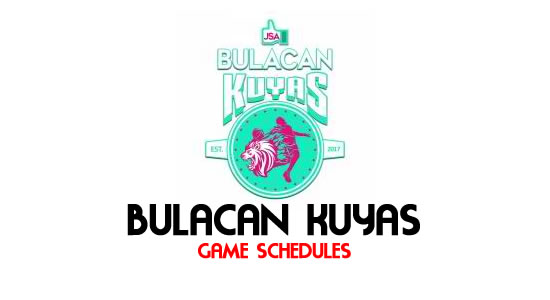LIST: Game Schedule Bulacan Kuyas 2018 MPBL Anta Datu Cup