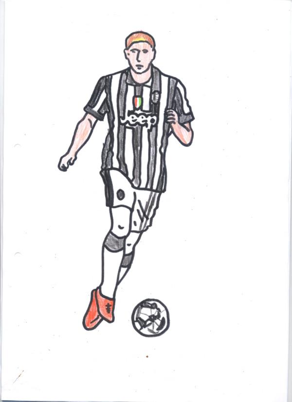 Disegni Da Colorare Di Calcio Juventus Coloradisegni