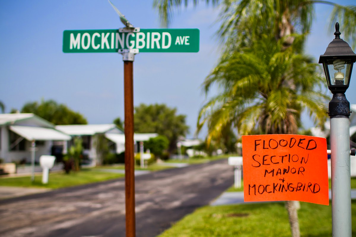 mock hurricane drill, hurricane season florida, rv community fort pierce