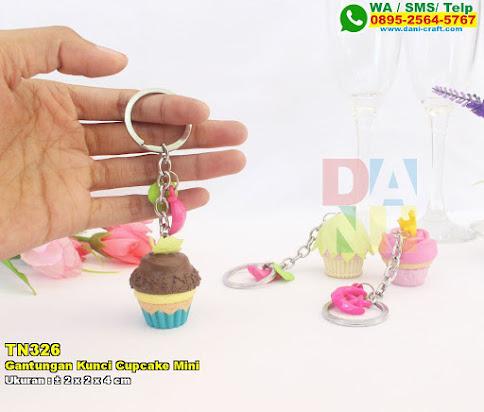 Gantungan Kunci Cupcake Mini