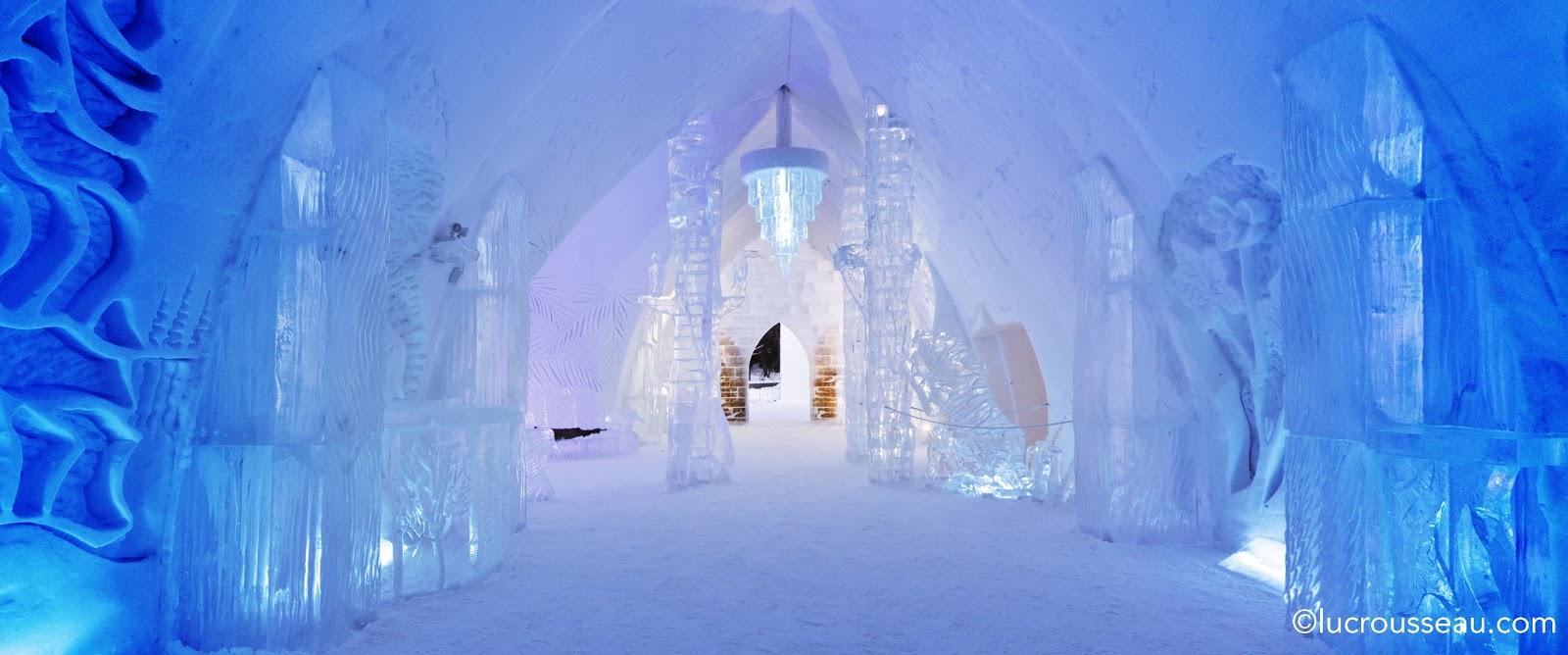 canada the hotel de glace the globe runaway. Black Bedroom Furniture Sets. Home Design Ideas