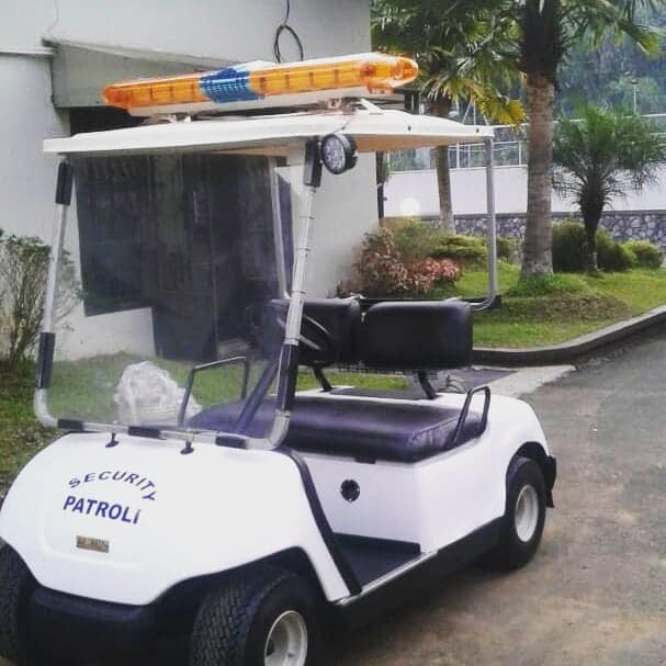 Mobil Golf Car Security Patrol
