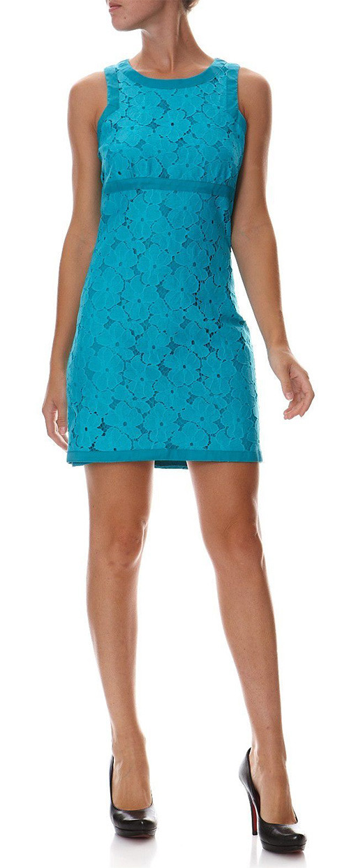 Robe courte turquoise Marciano Guess