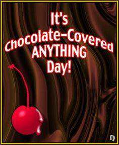 National Chocolate Covered Anything Day Wishes Unique Image