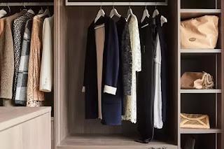 custom-made dressing room women wardrobe
