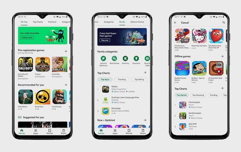 cara memperbarui google play di android