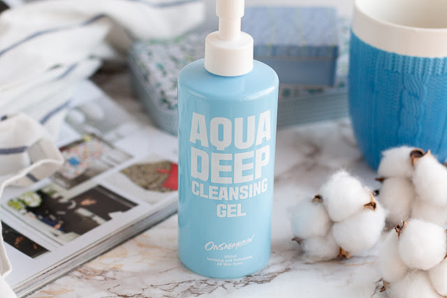 ONSAEMEEIN Aqua Deep Cleansing Gel отзыв