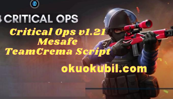 Critical Ops v1.21 Mesafe TeamCrema Script Sekmeme, Wall Hilesi İndir