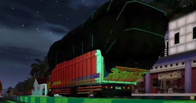 MOD Truck Canter Long Chasis Muatan Gayor Full Anim