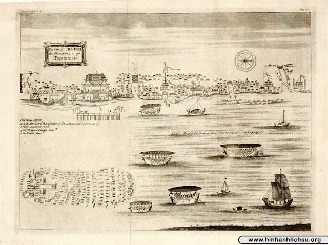 Bộ ảnh hiếm về nhà Lê trung hưng và thành Thăng Long năm 1684-1685