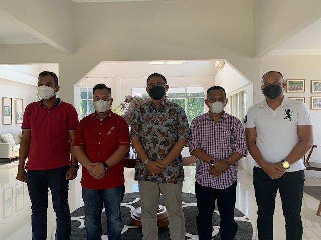 Bupati Nizar Usulkan Prioritas Pembangunan di Kabupaten Lingga kepada Staf Ahli Kementerian PPN