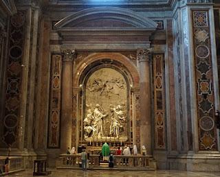 サン・ピエトロ大聖堂のコロンナの礼拝堂