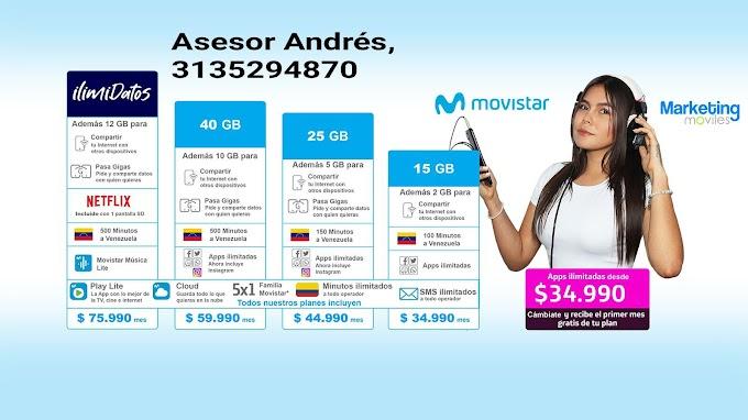 Adquiere en Santa Rosa de cabal los servicios hogar de Movistar promociones qué le puede interesar