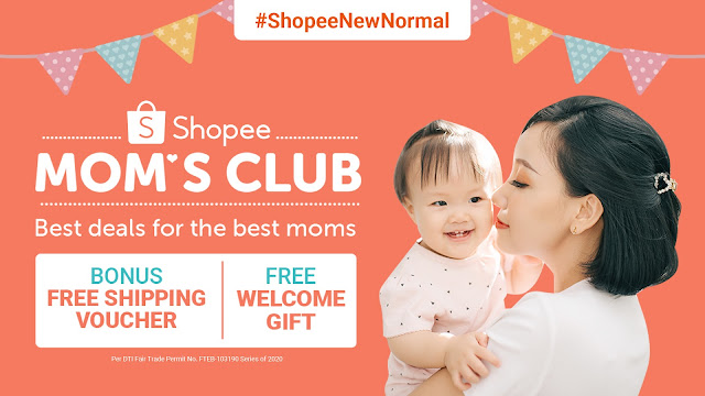 Shopee Mom's Club Members exclusive perks
