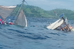 Usai Liput Kegiatan Presiden, Kapal Rombongan Wartawan Istana Terbalik Di Tengah Laut