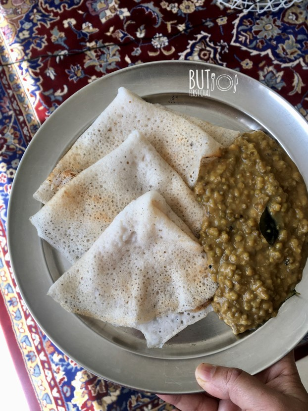 Ari Dosha with Coconut | Rice Crepes with Coconut