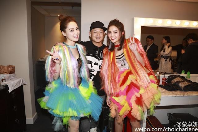 Gillian Chung Charlene Choi Twins concert