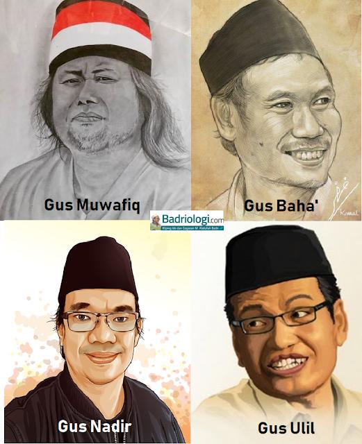 empat tokoh pendakwah muda nu yang intelek dan moderat