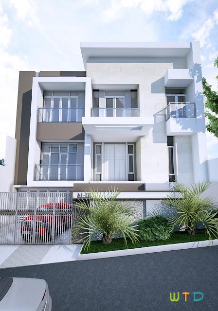 Desain Rumah Tinggal Mansion Garden Citra Garden Lampung