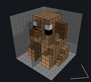How to use the Erase Voxels mode in VoxEdit