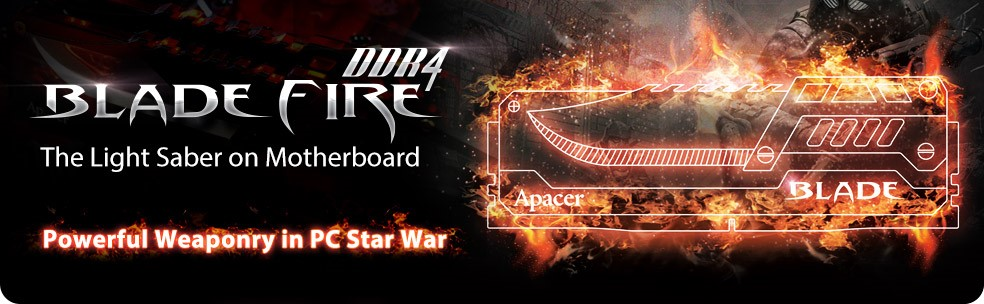 Apacer BLADE FIRE DDR4 3200MHz 32GB
