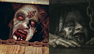 Dunia Sinema Evil Dead 1981 vs 2013 Cheryl dan Mia