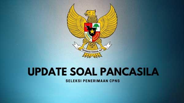 update contoh soal cpns pancasila
