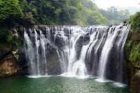 น้ำตกฉีเฟิน (Shifen Waterfall) @ www.wellwornroad.com