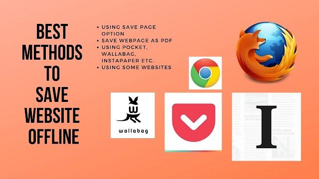 Best Methods to Save Website Offline 2019