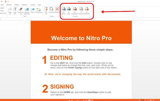 Cara Merubah PDF Menjadi Ms Word, Excel, Powerpoint dan Gambar Secara Manual/Offline