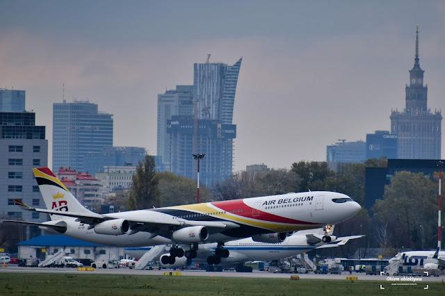 00-ABD - Airbus A340-313 - Air Belgium