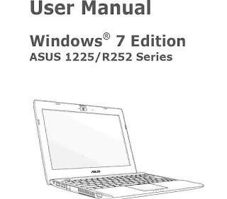 ASUS Eee PC 1225B Manual