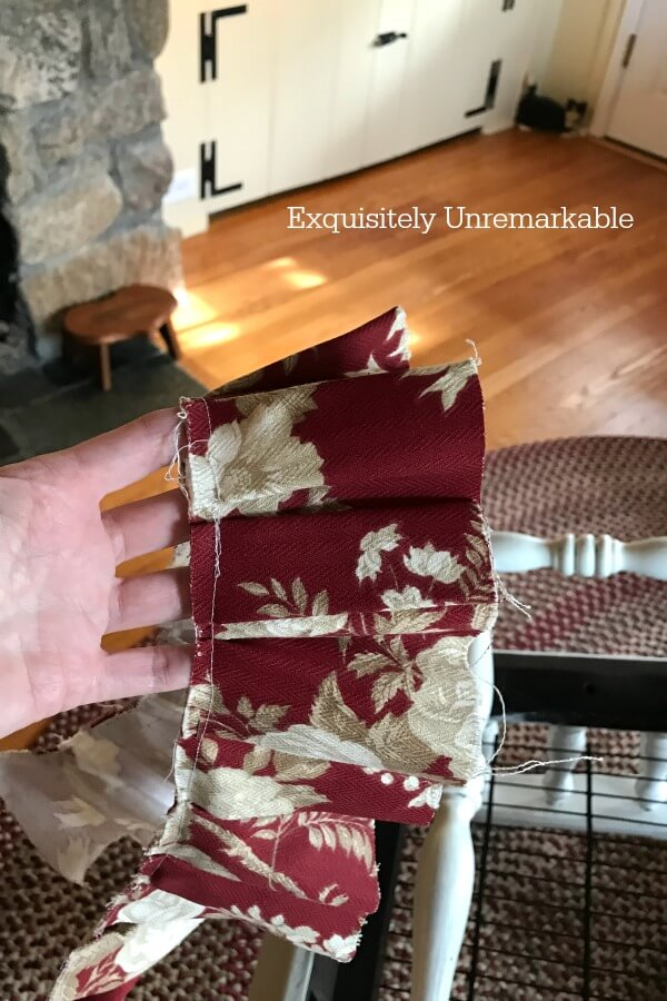 DIY Fabric Ruffle