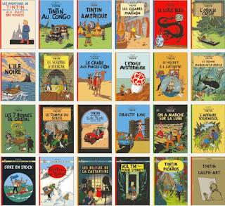 Resultado de imagen de coleccion historietas de tintin