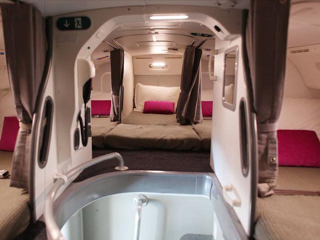 Căn phòng bí mật trên máy bay mà không ai cho bạn biết