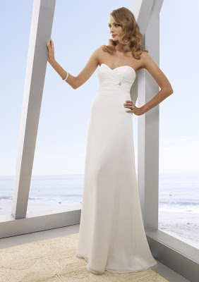 6 Vestidos (de noiva) e algumas idéias para o casamento na praia...!