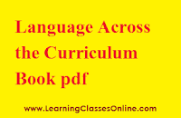 Language Across the Curriculum engilsh, Language Across the Curriculum ebook, Language Across the Curriculum b.ed,