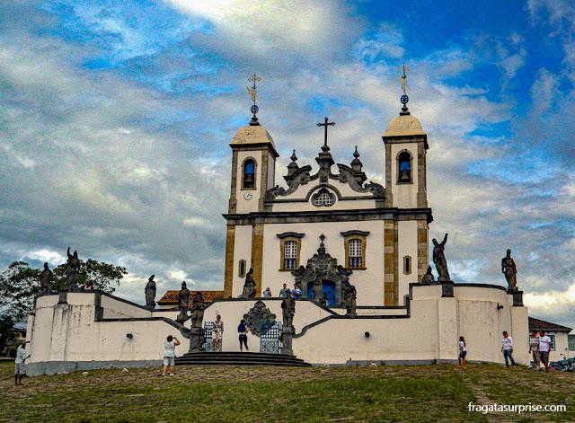 Profetas de Aleijadinho em Congonhas, Minas Gerais
