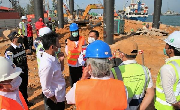 Kepala BP Batam Tinjau Pelaksanaan Pembangunan Infrastruktur Jalan dan Pelabuhan