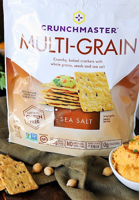 Crunchmaster Sea Salt gluten-free crackers image