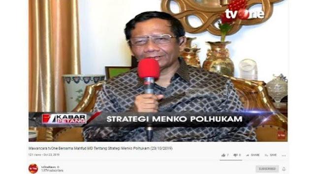 Ditanya soal Prabowo, Mahfud MD Cerita Pernah Pimpin Jenderal saat Jadi Menhan: Saya Deg-degan
