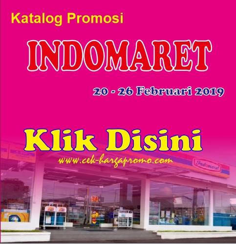 Katalog Promosi Indomaret 20-26 Februari 2019