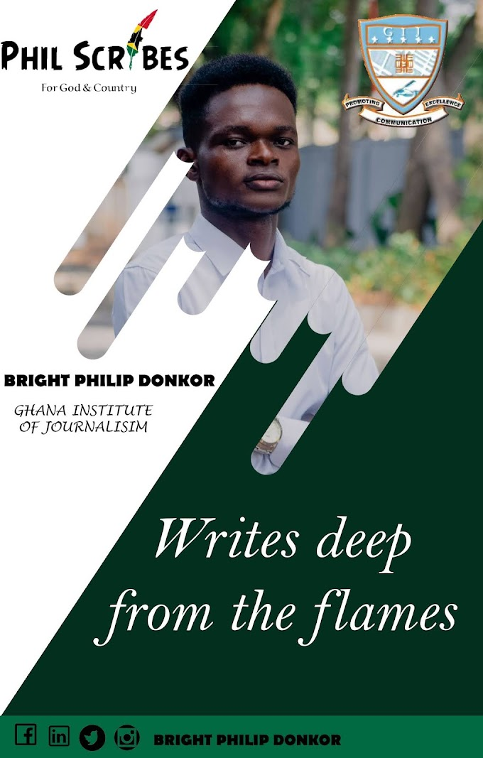 Bright Philip Donkor: LGBTQI in nature and logic perspective