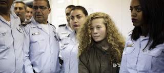 Ποινή φυλάκισης οκτώ μηνών επιβλήθηκε στην 17χρονη Παλαιστίνια, Αχεντ Ταμίμι