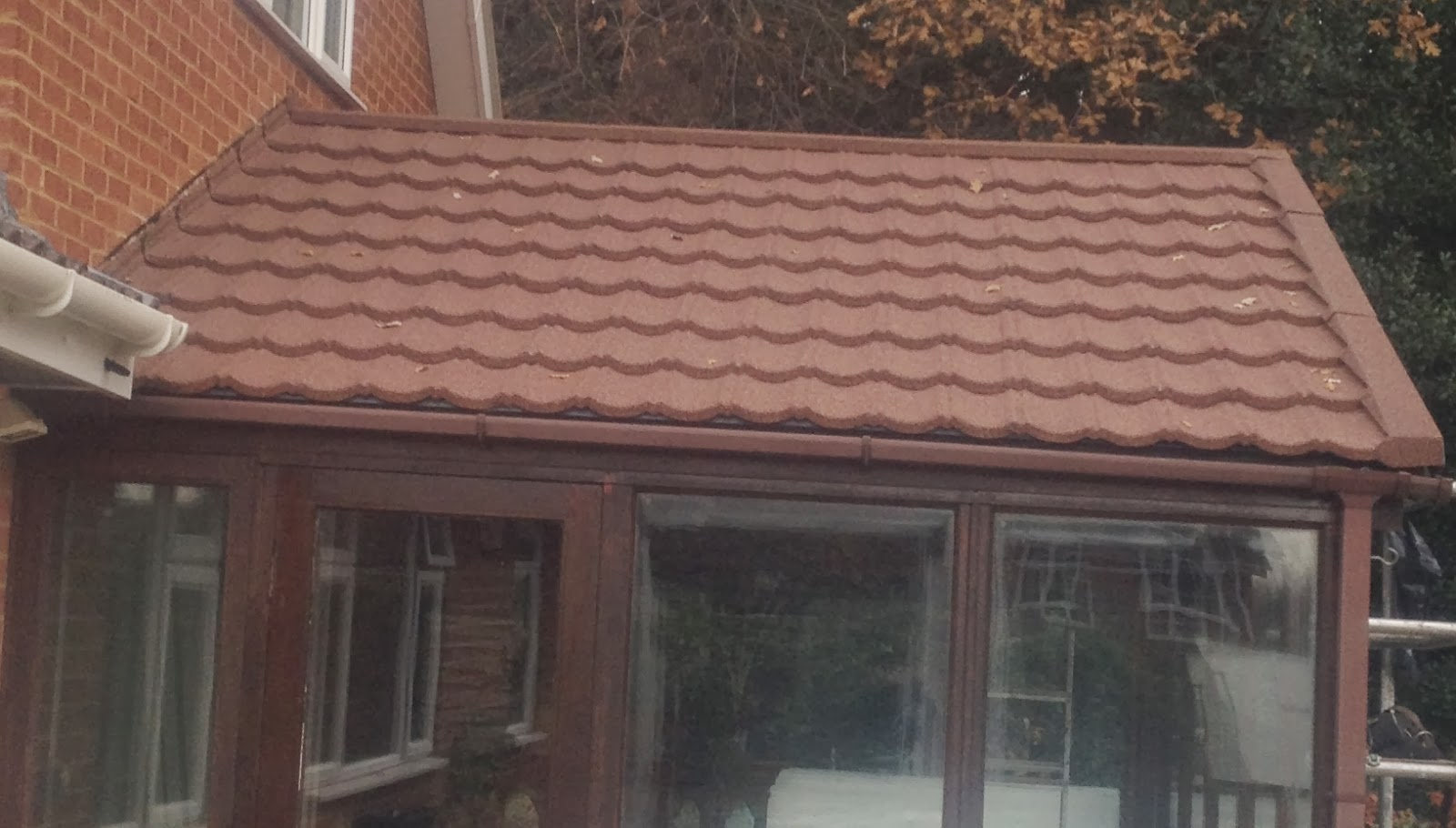 The Roofer Camberley Surrey Cold Conservatory Roof