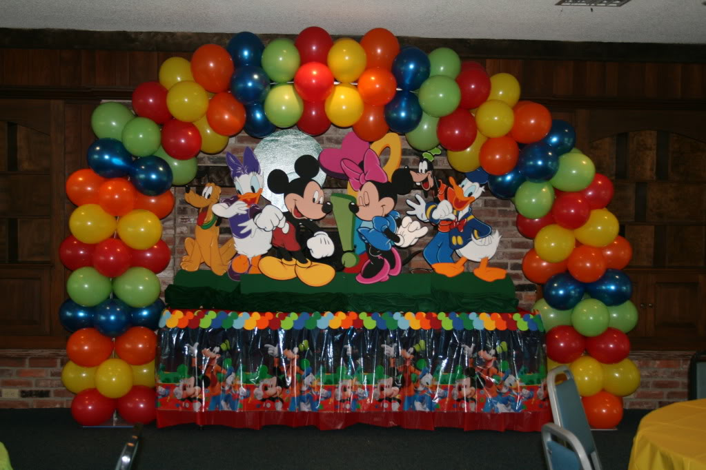 Red Minnie Mouse Birthday BALLOON ARCH for Cake Table or Gift Table Party DIY