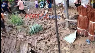 Banjir Menerpa Rumah Warga, Aktifitas Lumpuh