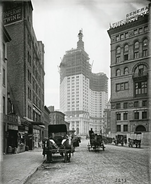 Pearl Street, New York, 1911