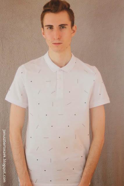 koszulka polo bershka